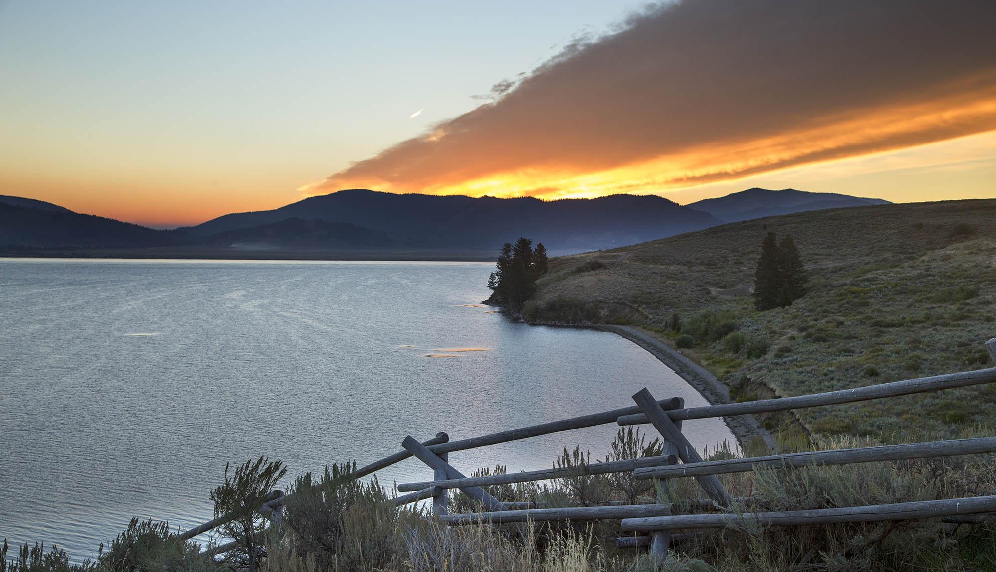 Henry's Lake at Sunrise