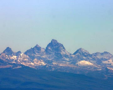 Tetons from Sawtelle Peak