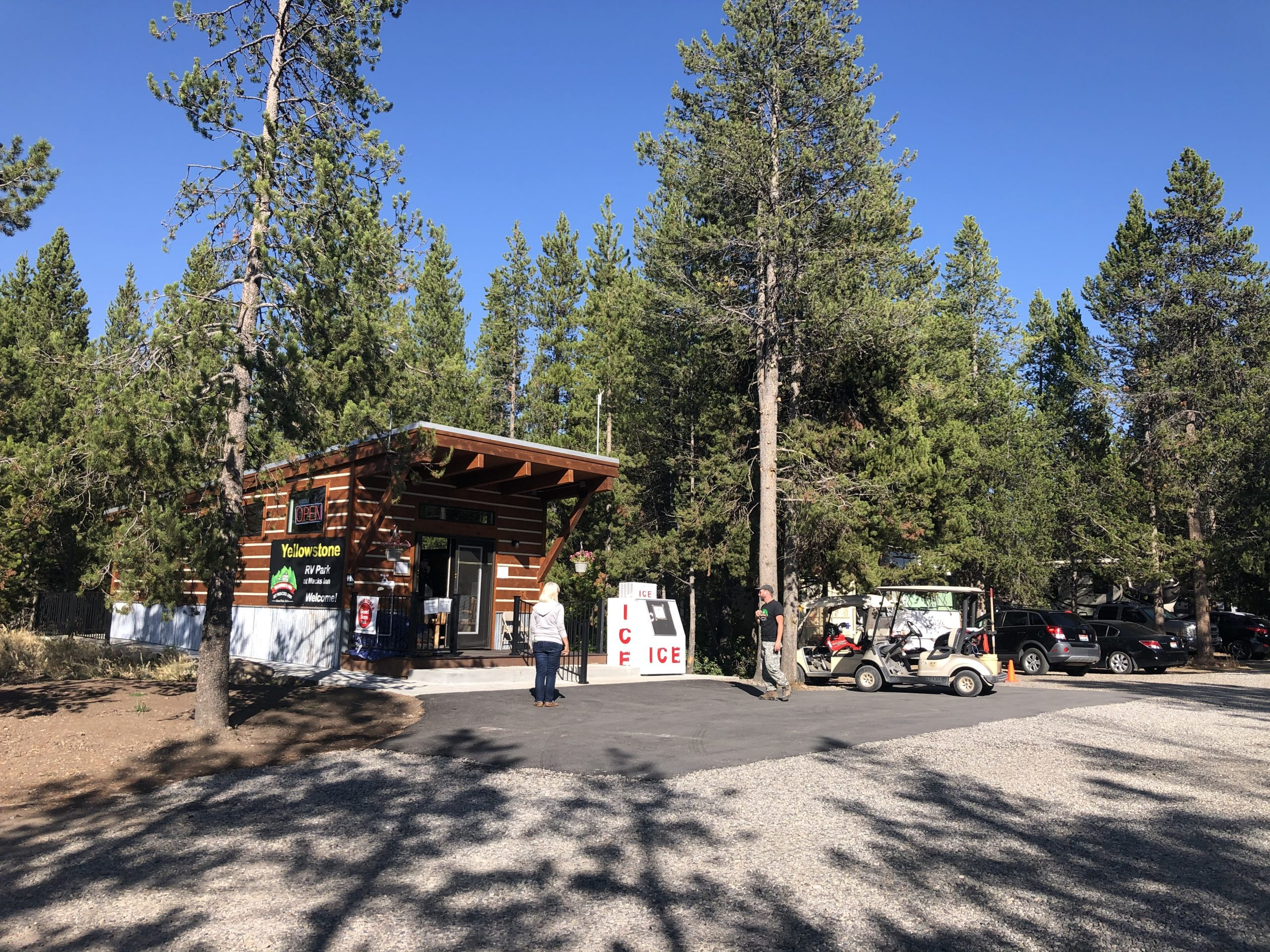 Yellowstone RV Park office and store